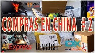 IMPORTAR PRODUCTOS DE CHINA Bangood Gear Best ALIEXPRESS Unboxing 2️⃣✔️