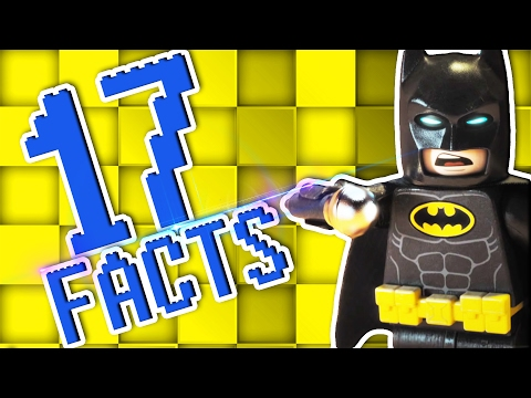 17 Facts About The LEGO Batman Movie