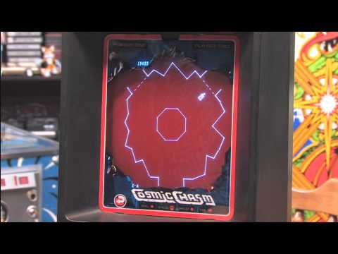Classic Game Room - COSMIC CHASM review for Vectrex