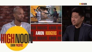 Aaron Rodgers speaks out about President Trump, LeBron James and NFL Protests | High Noon | ESPN