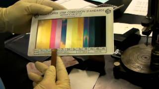 ASTM D-130 Copper Strip Corrosion Test 1;59