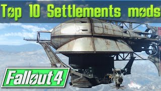 Fallout 4 Top 10 Settlement Home Player Homes Mods