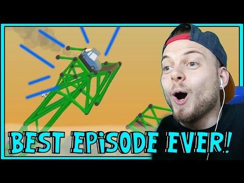 SquiddyPlays - Poly Bridge - BEST EPISODE EVER! [10]
