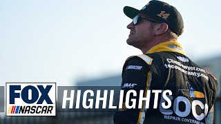 Clint Bowyer wins the pole for the All-Star Race in dramatic fashion | NASCAR on FOX HIGHLIGHTS