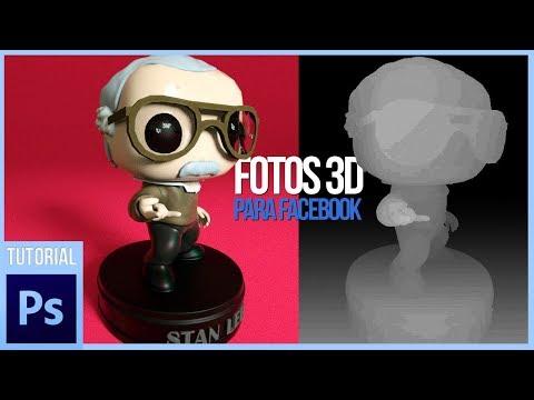 Crea FOTOS 3D para Facebook con Photoshop | Tutorial thumbnail