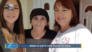 Asta I Romania 13.01.2019   Copiii Muncesc In  Talia Mama A Ramas Singura In Tara