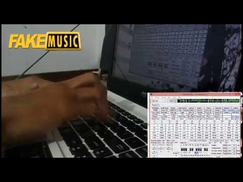 Bermain Orgen Tunggal Di Laptop - Meggy Z Benang Biru Dangdut