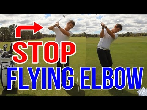 Fix Your Flying Elbow INSTANTLY | Golf Swing Lesson