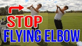 Fix Your Flying Elbow INSTANTLY   Golf Swing Lesson