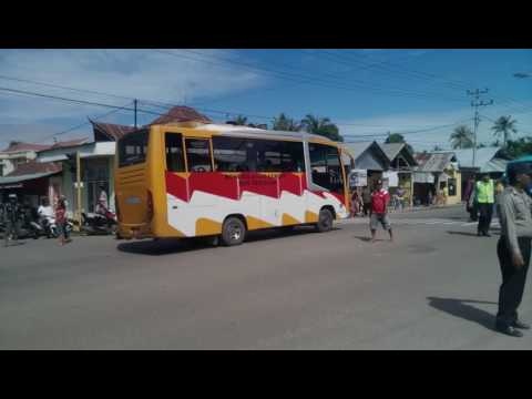 Saat kedatangan RI 1 ke Gorontalo