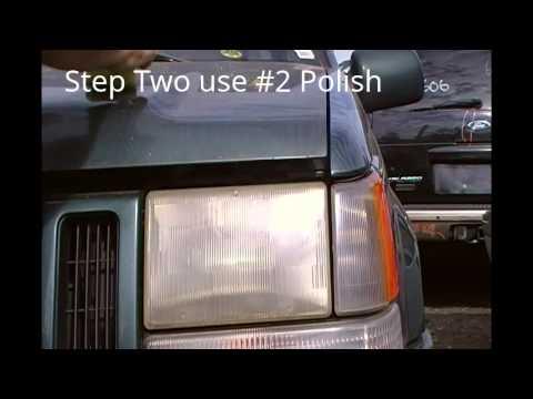 Ez Headlights Jeep in Junk Yard