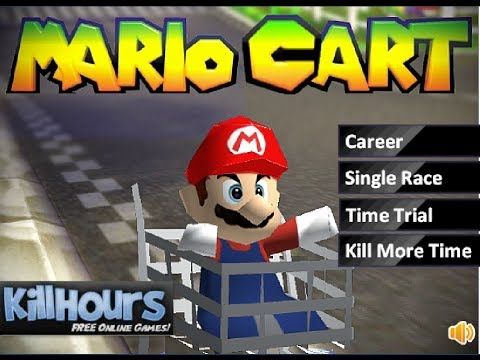 Mario Cart 3D (Weird Flash Game)