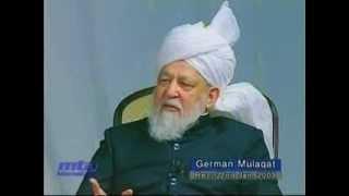 Der Khalif antwortet: Erklärung von Wunder, Heilkraut gegen Krebs, Sport: Q&A 22.01.2003