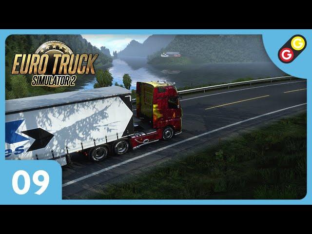 Euro Truck Simulator 2 #09 On découvre les fjords norvégiens ! [FR]