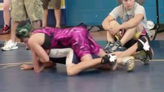 Skilful <b>Girl Pins Boys</b> At <b>Wrestling</b>