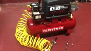 Craftsman 3 Gallon Compressor Review