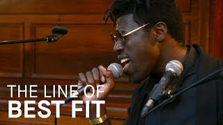 "Moses Sumney performs ""Come To Me"" by Björk for The Line of Best Fit"