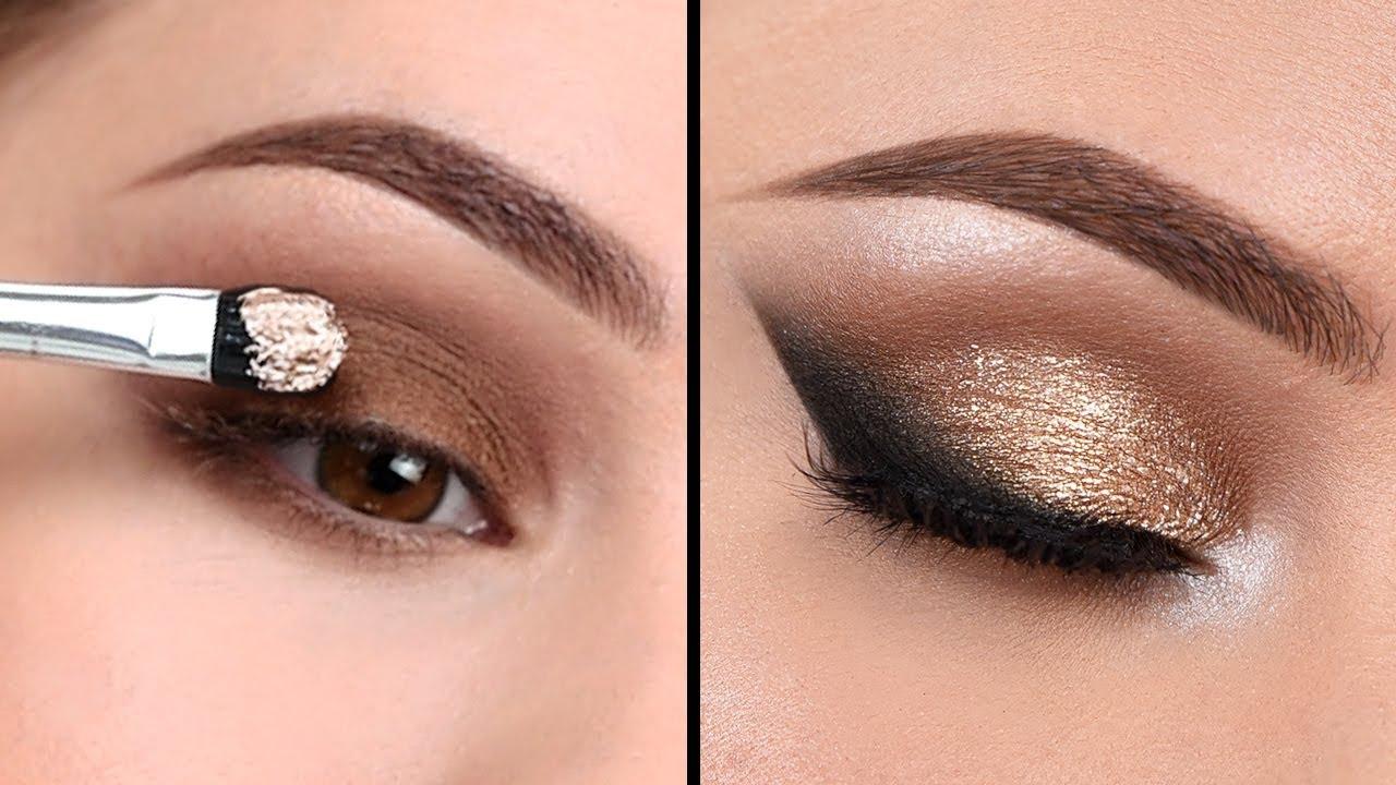 affordable neutral smokey eye - makeup tutorial