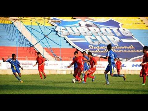 SUBROTO CUP INTERNATIONAL FOOTBALL FINAL SUB-JUNIOR BOYS (U-14)