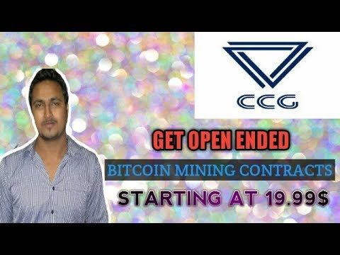 Mine Bitcoin With Ccgmining - Open Ended Bitcoin Mining Contracts - Affordable Mining Contracts