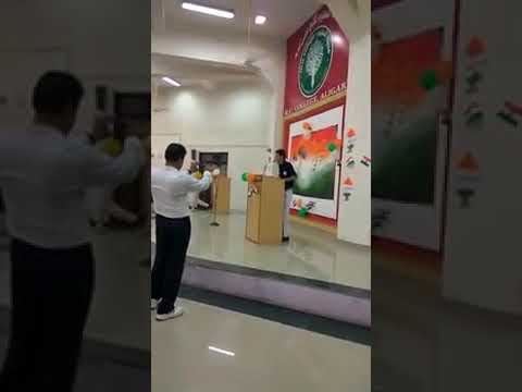 Speech on Independence Day by Syed Ali Hammad ZAIDI at MU College Aligarh