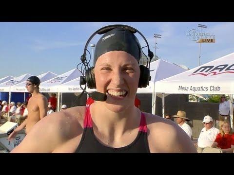 Missy Franklin wins 200m back in Mesa - Universal Sports