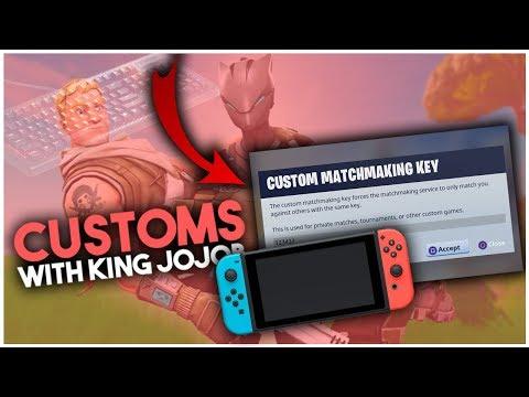 battle royale custom matchmaking key