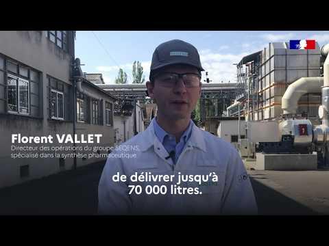 #COVID19 | Un groupe industriel mobilisé pour produire du gel hydroalcoolique