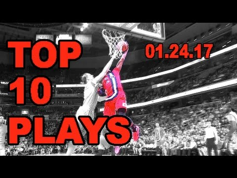 Veja o video – Top 10 NBA Plays of the Night! | 01.24.17