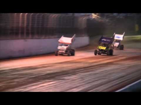 Port Royal Speedway All Star Sprint Car Racing Highlights 04-23-16
