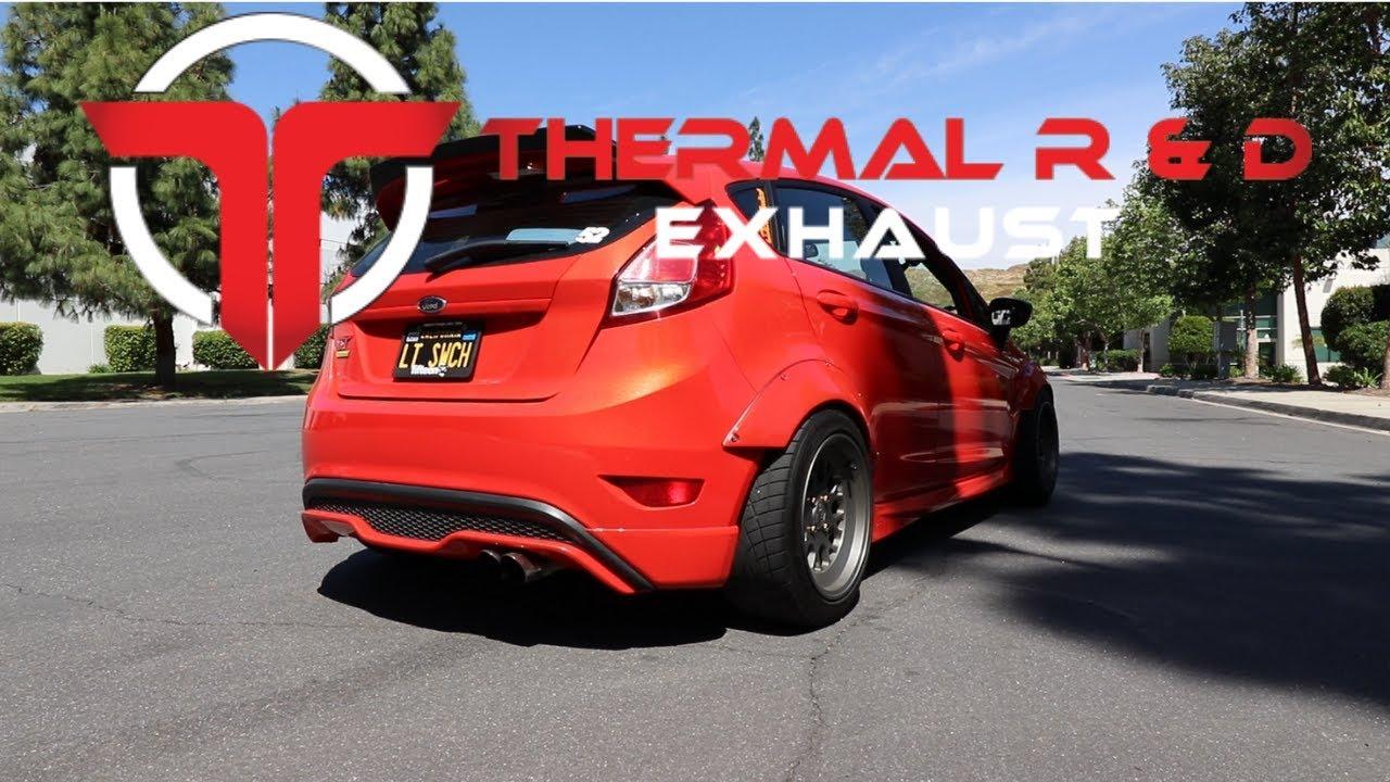 Fiesta ST - Thermal 3` Catback Exhaust