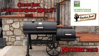 📷 Cactus Jack 16'' Longhorn Smart BBQ 7 in 1  2018 | Spoga Neuheit | Grill & Chill / BBQ & Lifestyle
