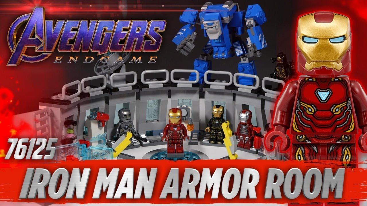 Lego Avengers Endgame Iron Man Hall Of Armor 76125 Lego