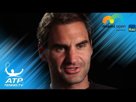 Roger Federer aims to get back to winning ways | Miami Open 2018 Pre-Tournament Interview