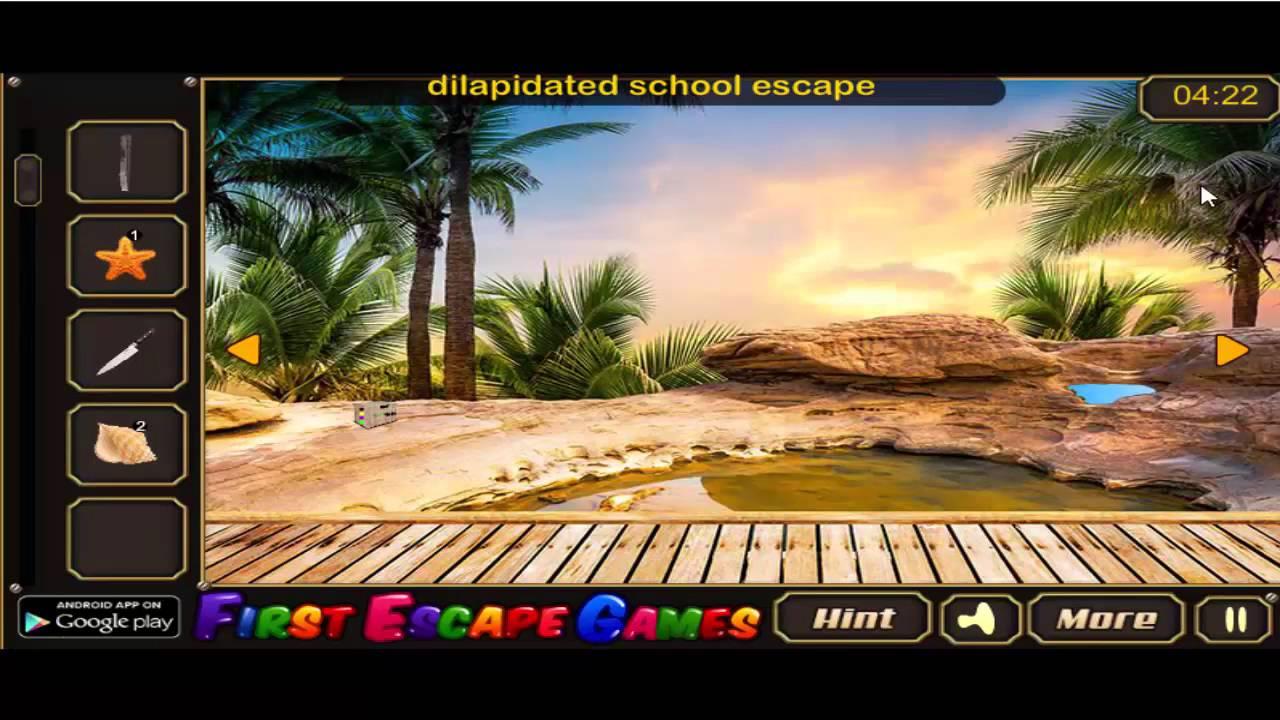 Deserted island game
