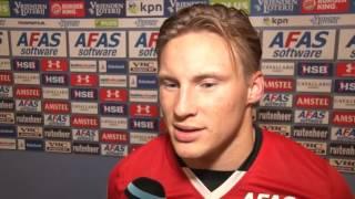 Reactie Svensson na AZ - FC Twente