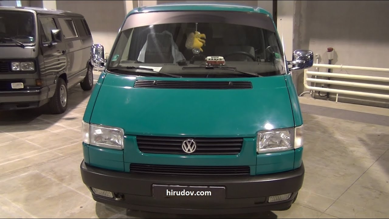 volkswagen transporter t4 multivan 1992 exterior and interior in 3d 4k uhd youtube. Black Bedroom Furniture Sets. Home Design Ideas