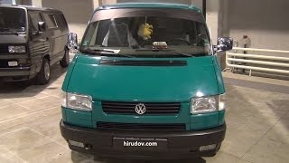 Volkswagen Transporter T4 Multivan (1992) Exterior and Interior in 3D 4K UHD