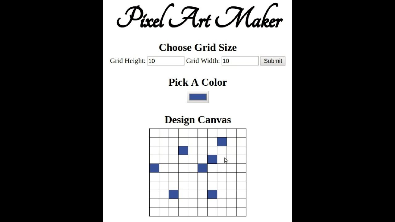 Udacity: Pixel Art Maker