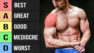 22 Shoulder Exercises Ranked (Worst to Best!)