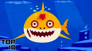 Top 10 Scary Baby Shark Theories