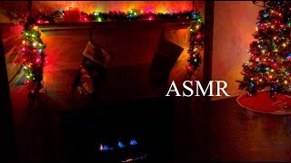 ASMR | Cozy Living Room Triggers for Instant Relaxation 🎄🧸✨