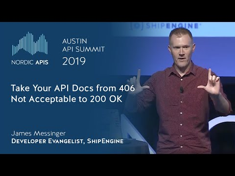 Take Your API Docs from 406 Not Acceptable to 200 OK - YouTube