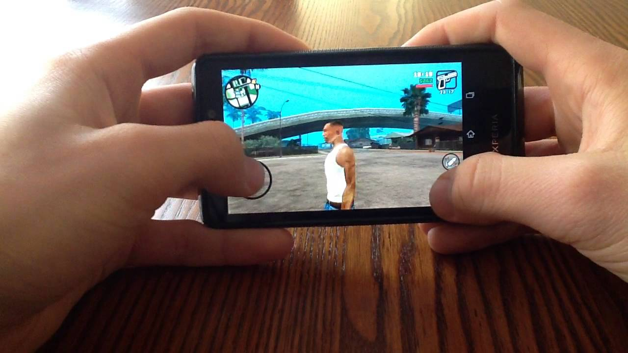 Phone Gta On Android Phone gta sa android apk sd files download torrent gameplay on xperia t working v 1 08 youtube