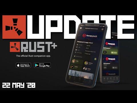 Companion App News! | Rust Update 22nd May 2020