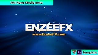 free after effects intro template 64 news media intro template for after effects - fortnite dn epic games