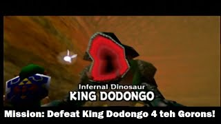 The Legend of Zelda: Ocarina of Time p.3: The Infernal Dinosaur and Dodongo's Cavern