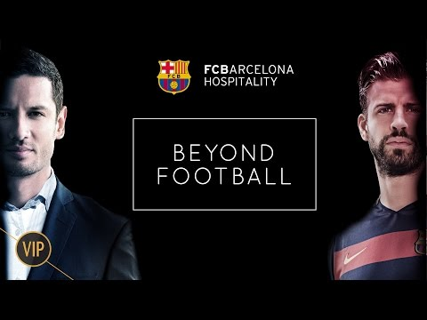 FC Barcelona Hospitality: the place your business partners have to be. Season tickets available.