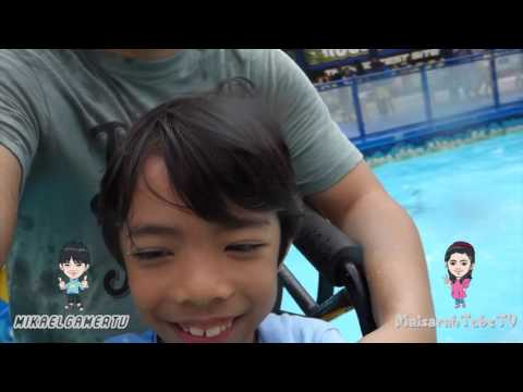 MikaelGamerTV & MaisarahTubeTV visit Legoland Malaysia - NinjaGo the Ride coming in Nov !!!