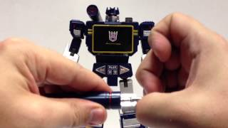 Video Takara MP-13 Masterpiece SOUNDWAVE w/CONDOR download MP3, 3GP, MP4, WEBM, AVI, FLV Agustus 2018